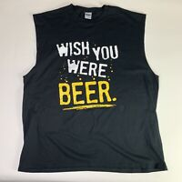 Goldman Wish You Were Beer Pink Floyd Album Funny Inspired Tank T Shirt Top Tee