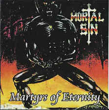 MORTAL SIN - Martyrs Of Eternity - CD - THRASH METAL