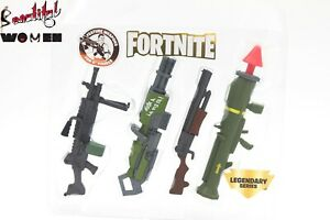 Fortnite legendary feature Weapon Pack 4 for 6'' soldiers figure Toys gun
