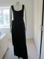 Long Navy blue East Sleeveless Dress Lace top - fully lined - Size 14 RRP £89