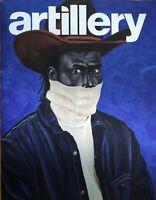 Artillery Art Magazine Kesha Bruce  Otis Kwame Kye Quaicoe Jul Aug 2020