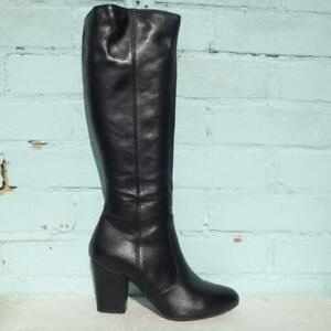 Jones the Bootmaker Leather Boots Size UK 7 Eur 40 Womens Tanya Black Boots