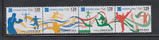 Costa Rica 2004 Olympics Sc 580 Complete Mint Never Hinged