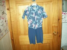 *** LION IN THE SUN BLUE MIX FULL SWIMSUIT AGE 5-6