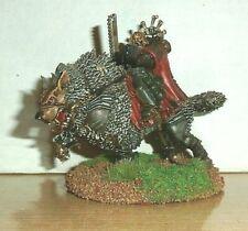 Warhammer 40K Canis Wolfborn, Metal OOP Space Wolves Marines Thunderwolf painted