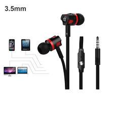 Für iPhone PC 3.5mm In-Ear Super Bass Stereo Headset Earphone Weiß & Schwarz NEU