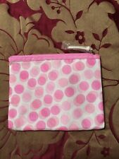 Clinique Spotted Make Up Bag Brand New/unused