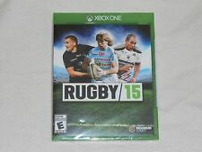 NEW Rugby 15 XBox One Game XB1 SEALED 2015 (READ DESCRIPTION) xboxone 1 US rubgy