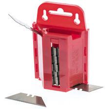 100 Standard Utility Knife Blades Box Cutter Razor Safety Dispenser Replacement