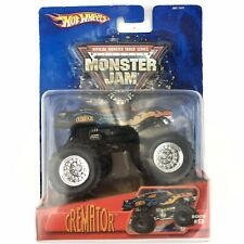Hot Wheels Monster Jam Monster Truck Cremator #9 Hearse 2005 Die Cast 1/64