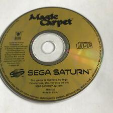 Magic Carpet / Disc Only / Sega Saturn / PAL