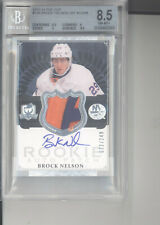 Brock Nelson auto jersey patch card RC /249 BGS 8.5 2013-14 UD The Cup Islanders