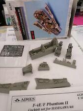 AIRES F-4E/F PHANTOM II   COCKPIT SET PER KIT HASEGAWA 1-48