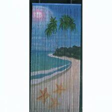 Bamboo Beaded Door Curtain - Starfish (also Room Divider Wall Art)