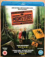 Monsters Blu-ray 2010 Cult Alien Invasion Sci-Fi Film with Lenticular Slipcover