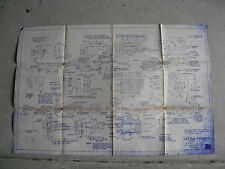 Vintage 1979 Little Engines Cylinder Block Blueprint LOOK
