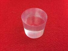 1-3/8 Round Bicron BC-408 Scintillator Plastic for 1-1/2 inch PMT detectors