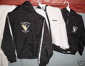 Pittsburgh PENGUINS 3 Season Jacket Reversible 4/5 kids NEW Black