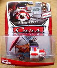 Disney PIXAR Cars KABUKI MATER on 2013 MATERS THEME CARD diecast 3/6 DELUXE
