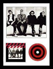 U2 / Limited Edition / Framed Photo & CD Presentation