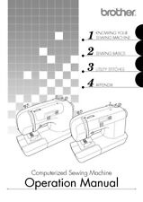 Brother S33 S34 S36 S37 Sewing Machine User Manual Owners Manual Reprint