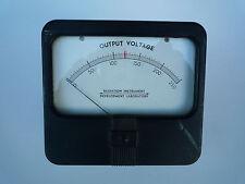 RADIATION INSTRUMENT DEVELOPMENT LABORATORY OUTPUT VOLTAGE METER 0 - 250 RANGE