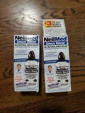 (2-Pack) NeilMed Sinus Rinse Sample Starter Kit Bottle And 1 Mix Packet $3 Off