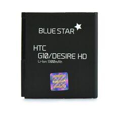 Akku für HTC Desire HD G10 wie BA-S470 Accu Battery Ersatzakku 1300 mAh BA S470