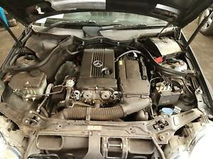 MERCEDES C CLASS ENGINE PETROL, 1.8, S/CHARGED, W203/CL203, C180K, 10/02-06/07