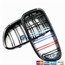 GA Double Slat Front Grilles 3 Color For BMW 520i 528i 530i 535i 550i 11-16