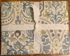 NEW Pottery Barn Jessie Print EURO Comforter Pillow Sham BLUE **QTY AVAILABLE**