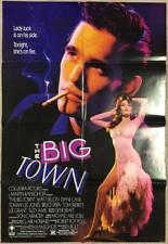 Matt Dillon stripper Diane Lane Big Town 1987 Org Movie Poster 99