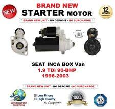 Per SEAT INCA BOX VAN 1.9 TDI 90-BHP 1996-2003 nuovo motore di avviamento 2.0 KW 10 DENTI