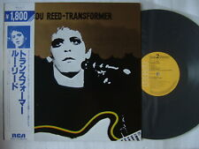 LOU REED TRANSFORMER / WITH OBI NM MINT- SUPERB COPY