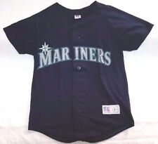 Seattle Mariners Russell Athletic Nublend mlb replica baseball jersey Youth sz M