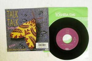 TALK TALK LIFE'S WHAT YOU MAKE IT EMI EMS-17613 Japan PROMO VINYL 7