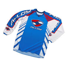 ALLOY MX MOTOCROSS JERSEY SHIRT 04 REACTOR BLUE / WHITE / NAVY / RED patriot top
