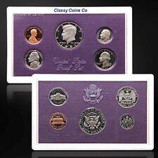 1987-S 5 Coin Clad US Proof Set ☆☆Gorgeous Details☆☆Deep Cameos☆☆