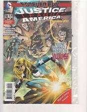 JUSTICE LEAGUE OF AMERICA #10 COMBO PACK NEW 52, NM (Jan. 2014, DC Comics)