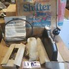20576 Bm Nos Vintage Ratchet Shifter 70 Series With Transmission Temp Gauge