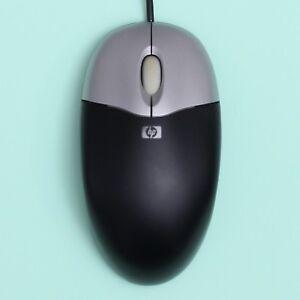 Genuine Original Black HP Optical PS/2 Computer Mouse w/ Scroll Wheel [M-SBF96]