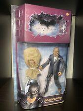 Batman: The Dark Knight Scarecrow in Suit Figure Mattel Movie Masters