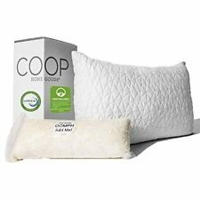 Coop Home Goods - Premium Adjustable Loft Pillow - Hypoallergenic Cross-Cut Memo