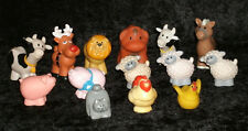 Fisher Price Little People Chunky Farm Circus Animal Lot of 14 Lion Prize Pig