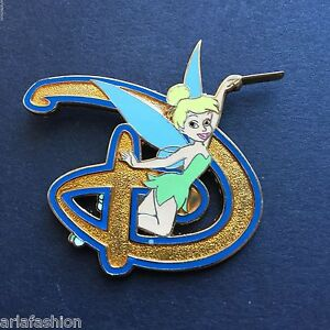 WDW - Where Dreams Come True Disney D - Tinker Bell Disney Pin 49882