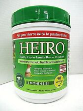 New listing Heiro Healthy Equine Insulin Rescue Organicals 3 Month Supply