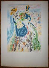 Cavailles Jules Lithographie originale signée numérotée expressionnisme