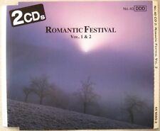 "Various Classical Artists ""Romantic Festival 1 & 2"" 2-CD's double 1991 (EX+)"