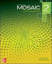 Mosaic Level 2 Listening/Speaking Student Book Plus Registration Code for...