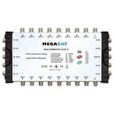 Megasat Multischalter 5/16 C Kaskade Multiswitch DiSEqC Verteiler erweiterbar Qu